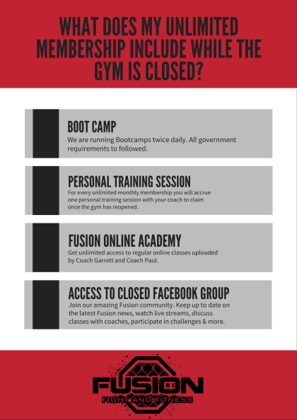 Online, Live Bootcamps, Personal Training Sessions